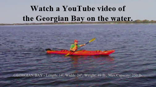 Click here to watch a YouTube video of the Georgian Bay on the water.