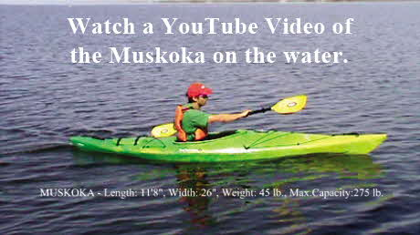 Click here to watch a YouTube video of the Muskoka on the water