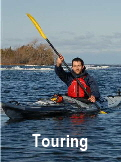 Click here to see our full size Touring Kayaks